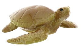 Hagen-Renaker Miniature Ceramic Turtle Figurine Sea Tortoise Swimming
