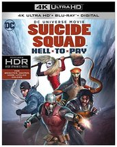 DCU: Suicide Squad: Hell To Pay (4K Ultra HD+Blu-ray+Digital, 2018)