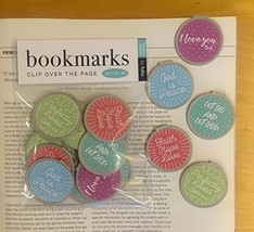 Inspirational Bookmarks Set of 30 Perfectly Loved, Faith Hope Love, LET GO & LET