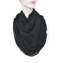 New CEJON Soft Cozy Shiny Ruched Infinity Scarf Women's Lightweight Loop... - €9,54 EUR