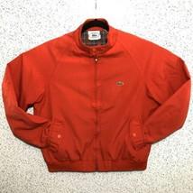 Vintage IZOD LACOSTE Harrington Mechanic Plaid Lined Jacket Baracuta G9 ... - $59.39