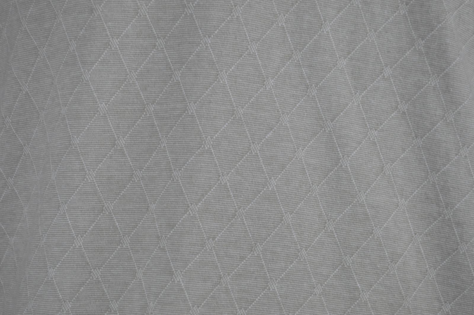 Tasso Elba L Mens Short Sleeve Golf Polo Shirt Beige diamond geometric print