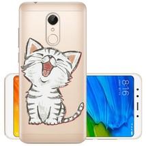 Soft TPU For Xiaomi Redmi 5 Case Cover Xiaomi Redmi 5 Plus Case Painted Soft Sil - $9.37