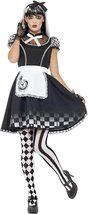 Women's Gothic Alice In Wonderland Costume