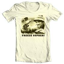 Caddyshack T-shirt Bill Murray retro 80s golf comedy movie 100% cotton tan tee image 2