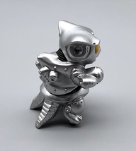 Max Toy Metallic Silver Mini Mecha Nekoron - Mint in Bag image 6