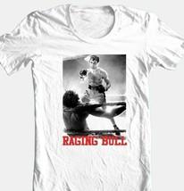 Raging Bull T-shirt De Niro retro vintage boxing movie 100% cotton graphic tee image 1