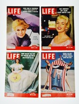 Vintage 1956 LIFE Magazines 4 Issues - $25.00