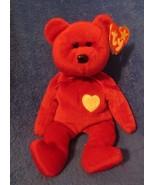 Ty Beanie Baby Valentina Gasport Tag Error - $10.68