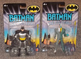 2008 DC Batman & Two Face Action Figure Lot New In The Packages - $34.99