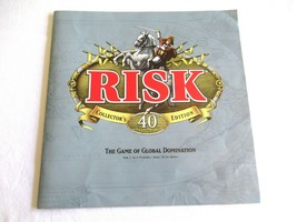 Risk 40th Anniversary Edition Board Game ReplacemenInstruction Manual Direction - $9.99