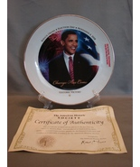 "Barack Obama Plate ""Change Has Come"" Election Day November 4, 2008 - $4.99"