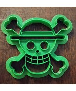 3D Printed Cookie Cutter Inspired by One Piece Straw Hat Pirates - $8.91