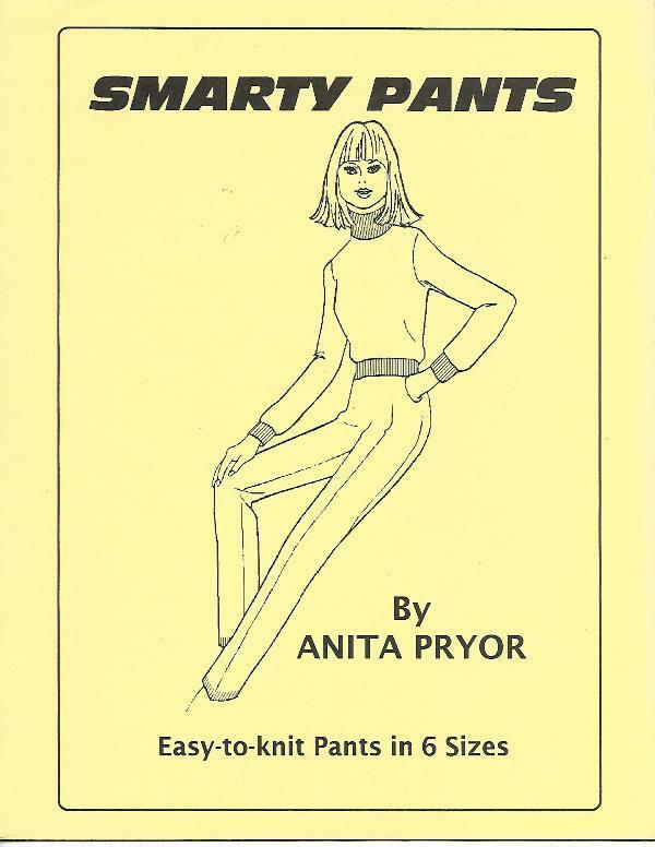 Primary image for Smarty Pants by Anita Pryor Easy to Knit Pants in 6 Sizes for Machine Knitting