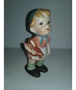 Lipper & Mann Kissing Girl Ceramic Figurine  1956 - $26.00