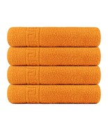 Bath Towel Cotton Set 4 Pcs Towels 28x56 Inch 500GSM Extra Soft Absorben... - $24.99