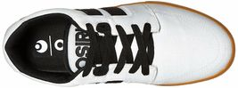 Osiris Mens White/Gum Canvas Lumin Lightweight Skateboarding Shoes Sneakers NIB image 6