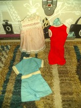 VINTAGE IDEAL TAMMY CLOTHES LOT 4 - $10.99