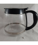 Glass Coffee Pot Black Replacement 4-Cup Carafe - $8.90