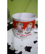 Campbell's Soup 1993 Mug with Directions for use on side EUC - $20.00