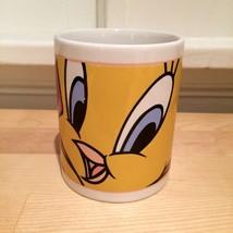 Tweety Bird Looney Tunes Warner Brothers Close Up Cartoon Coffee Mug Gibson - $9.50