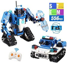 Mould King 2 in 1 Building Block Robot Policemen Toy with Remote Control Robot E image 1