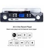 DIGITNOW! Turntable Bluetooth Speakers Stereo 33/45/78 RPM Casset MP3 Radio - $332.87