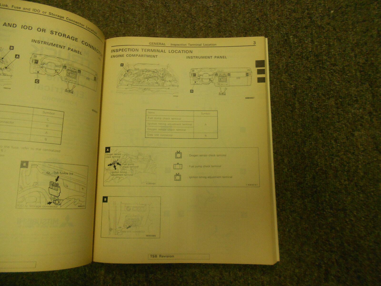 1992 1995 MITSUBISHI Truck Service Repair Shop Manual VOL 2 FACTORY FEO BOOK 95
