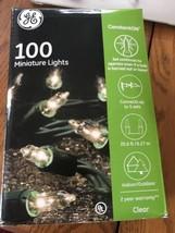 G.E String-A-Long Constant ON 100 Mini Christmas Lights 20.6ft Lighted L... - €13,03 EUR
