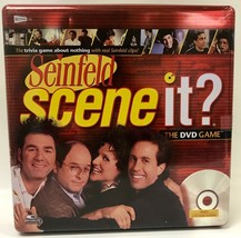 Seinfeld Scene It? The DVD Game In Tin Container - Cards & Tokens Still Sealed! - $24.94