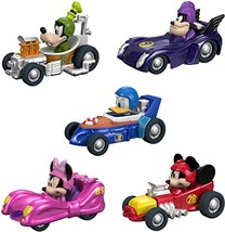 Fisher-Price Disney Mickey & the Roadster Racers, Hot Rod Vehicles, 5 Pack - $29.67