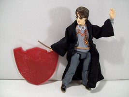 NWOB HARRY POTTER DUELING CLUB HARRY ACTION FIGURE 2003 NEW, LOOSE - $14.65