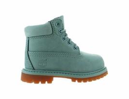 Kids Timberland 6 Inch Premium Boot TD Sky Blue Brown TB0A1KPS - $1.449,51 MXN