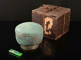 China bronze bronze Han bronze lid with box - $357.76