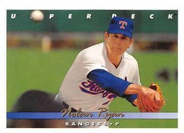 1993 Upper Deck #155 Nolan Ryan > Texas Rangers - $0.99