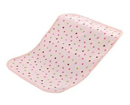 PINK Cute Baby Infant Urine Mat Cover Breathable Crib Mattress Pad