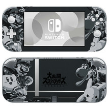 Nintendo Switch Lite Console Skin Decals Stickers Vinyl Super Smash Bros Special - $9.60