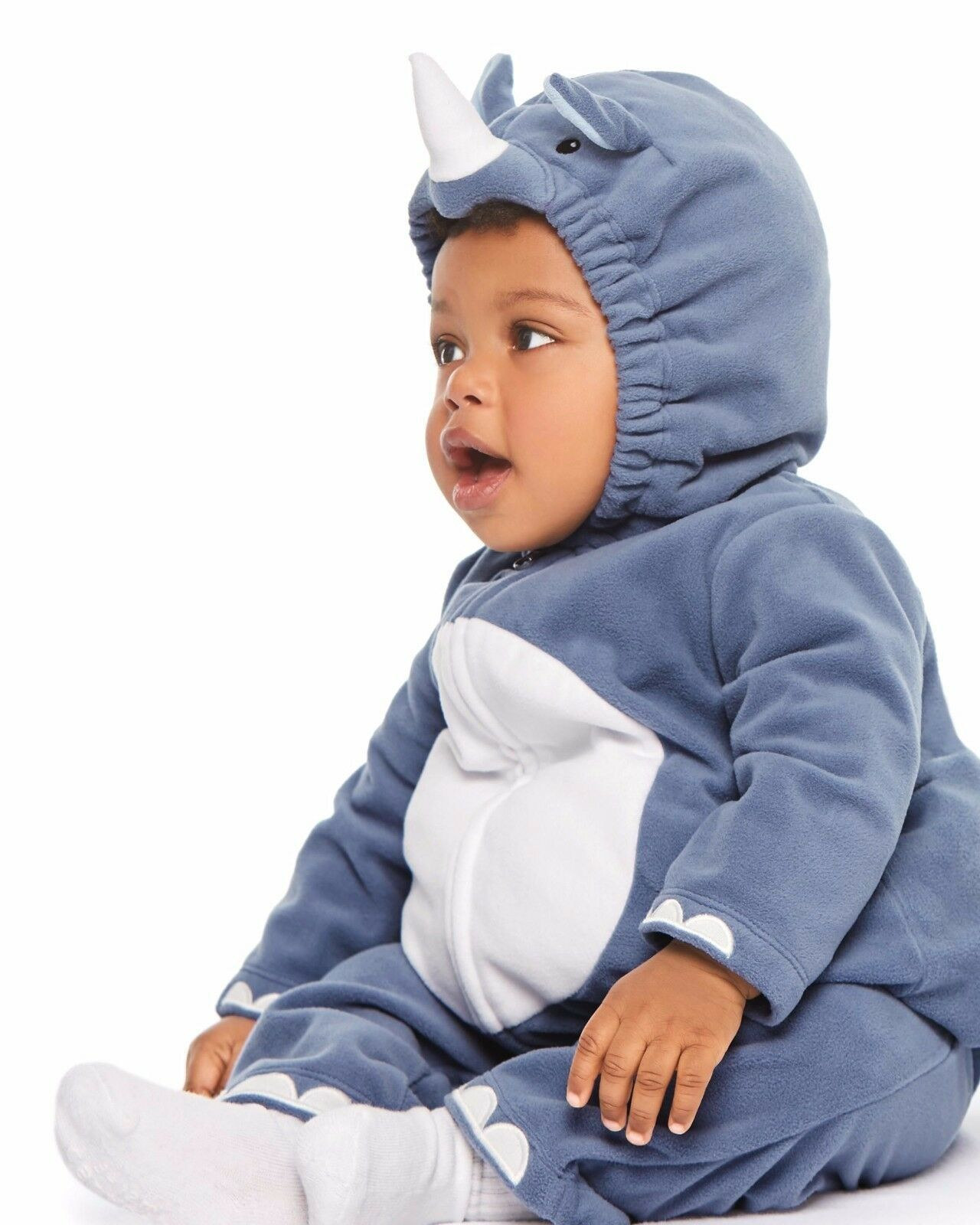 NEW Boys Carter's Halloween Rhino Costume 3-6 or 6-9 Months 2 Piece