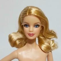Model Muse Barbie Doll Blonde Hair Bent Arms Blue Eyes - $24.74
