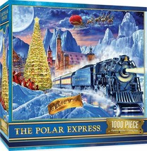 MasterPieces Holiday Polar Express Jigsaw Puzzle, Train, 1000 Pieces - $34.57
