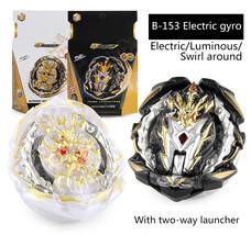 Burst Beyblade Eletric Luminous Swirling Gyro Set Spinning Tops with Lau... - $29.99
