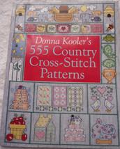 Donna Kooler's 555 Country Cross Stitch Patterns - $5.99