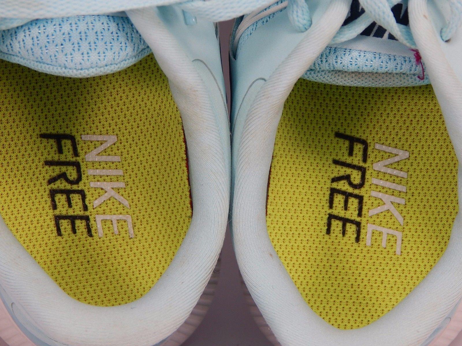Nike Free 5.0+ 2014 Women's Running Shoes Sz US 9 M (B) EU 40.5 Blue 580591-431