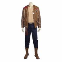Star Wars Episode VIII The Last Jedi Finn Cosplay Costumes Men Halloween suit - $178.00