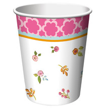 Tea Time 9 oz Hot/Cold Cups, Case of 96 - $52.59