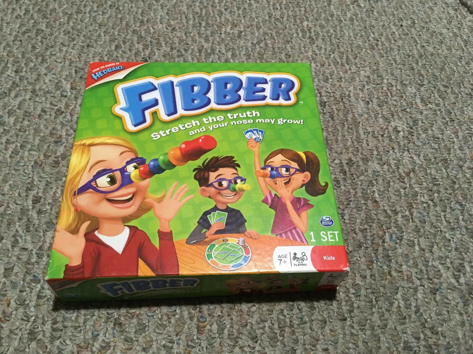 Primary image for Fibber Kids Board Game 7+ 3-4 Players FROM THE MAKER OF HEDBANZ