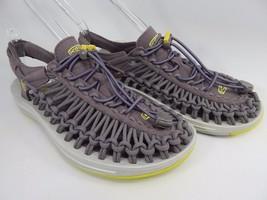Keen Uneek Women's Sports Sandals Size US 7 M (B) EU 37.5 Shark / Sulphur Spring