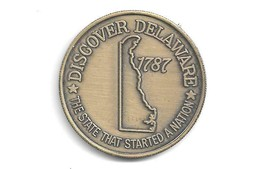 DELAWARE MEDAL - 39mm IN DIAMETER. (CNS 1853) - $7.92