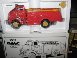 First Gear-1952 Gmc Fuel Tanker Truck-Shell Oil CO-1/34 Scale-FREE Shipping - $35.00