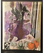 Georges Braque Exposition Galerie Beyler Bale 1968 September Paperback 6... - $21.00